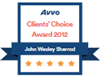 Avvo Clients' Choice Award 2012