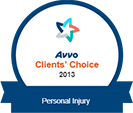 Avvo Clients' Choice 2013
