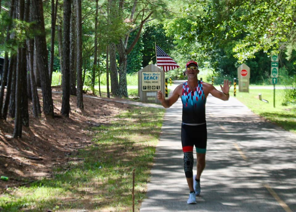 John Sherrod Completed Half Ironman Triathalon to Raise Over $11,500 for Active Heroes